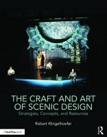 Craft and Art of Scenic Design: Strategies, Concepts, and Resources