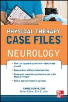 Physical Therapy Case Files: Neurological Rehabilitation - ISE Edition - ISE Edition - ISE Edition