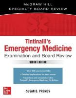 Tintinalli's Emergency Medicine Examination and Board Review 3rd edition