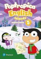 Poptropica English Islands Level 5 Wordcards 2nd New edition