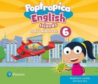 Poptropica English Islands Level 6 Audio CD 2nd New edition