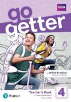 GoGetter 4 Teacher's Book with MyEnglishLab & Online Extra Homework plus   DVD-ROM Pack
