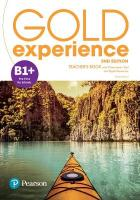 Gold Experience 2nd Edition B1plus Teacher's Book with Online Practice & Online   Resources Pack