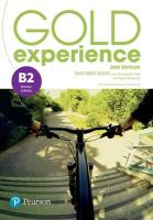 Gold Experience 2nd Edition B2 Teacher's Book with Presentation Tool &   Online Practice Pack