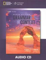 Grammar In Context 1 Audio Cd 6E 6th edition