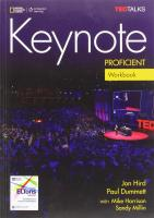 Keynote Proficient Workbook & Workbook Audio CD, C2