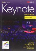 Keynote Proficient Workbook with WB Audio CD, C2