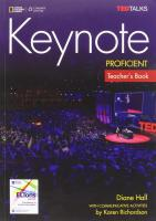 Keynote Proficient: Teacher's Book with Class Audio CDs, C2