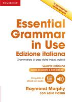 Essential Grammar in Use Book Without Answers with Interactive eBook Italian   Edition 4th Revised edition