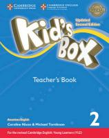 Kid's Box Level 2 Teacher's Book American English Updated edition