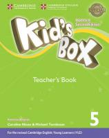 Kid's Box Level 5 Teacher's Book American English Updated edition