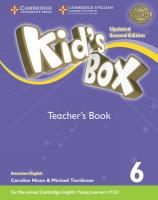 Kid's Box Level 6 Teacher's Book American English Updated edition