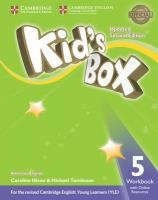Kid's Box Level 5 Workbook with Online Resources American English Updated edition