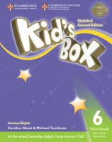 Kid's Box Level 6 Workbook with Online Resources American English Updated edition