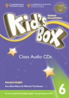 Kid's Box 2nd Revised edition