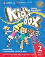 Kid's Box Level 2 Student's Book American English Updated edition