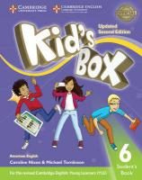 Kid's Box Level 6 Student's Book American English Updated edition