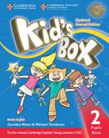Kid's Box Level 2 Pupil's Book British English Updated edition