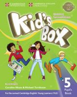 Kid's Box Level 5 Pupil's Book British English Updated edition