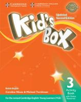Kid's Box Level 3 Activity Book with Online Resources British English Updated edition
