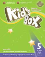 Kid's Box Level 5 Activity Book with Online Resources British English Updated edition