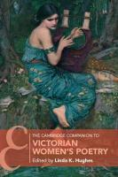 Cambridge Companion to Victorian Women's Poetry, The Cambridge Companion to Victorian Women's Poetry
