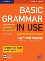 Basic Grammar in Use Student's Book with Answers and Interactive eBook: Self-study Reference and Practice for Students of American English 4th Revised edition