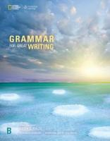 Grammar for Great Writing B