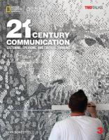 21st Century Communication 3: Listening, Speaking and Critical Thinking:   Student Book Student Manual/Study Guide