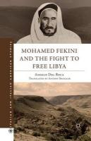 Mohamed Fekini and the Fight to Free Libya 2011 1st ed. 2011