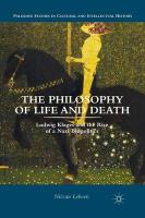 Philosophy of Life and Death: Ludwig Klages and the Rise of a Nazi Biopolitics 2013 2013 ed.