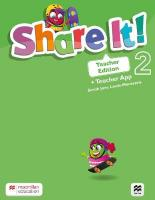 Share It! Level 2 Teacher Edition with Teacher App