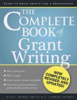 Complete Book of Grant Writing: Learn to Write Grants Like a Professional 2nd