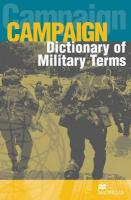 Campaign Military English Dictionary 3rd ed.