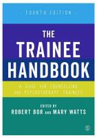 Trainee Handbook: A Guide for Counselling & Psychotherapy Trainees 4th Revised edition