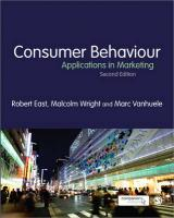 Consumer Behaviour: Applications in Marketing 2nd Revised edition