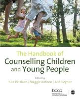 Handbook of Counselling Children & Young People