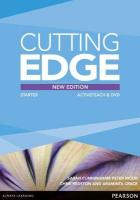 Cutting Edge Starter New Edition Active Teach 3rd New edition
