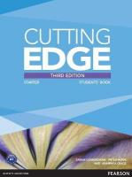 Cutting Edge Starter New Edition Students' Book and DVD Pack 3rd edition