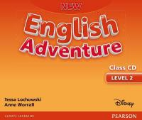 New English Adventure GL 2 Class CD 2nd New edition