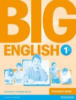 Big English Teacher's Book, 1