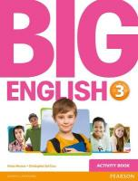 Big English Activity Book, 3