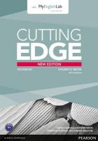 Cutting Edge Advanced New Edition Students' Book with DVD and MyLab Pack 2nd edition