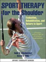 Sport Therapy for the Shoulder with Online Video: Evaluation, Rehabilitation, and Return to Sport
