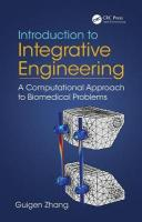Introduction to Integrative Engineering: A Computational Approach to Biomedical Problems