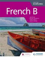 French B for the IB Diploma Student Book, Student Book, Whiteboard eTextbook
