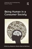 Being Human in a Consumer Society New edition