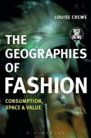 Geographies of Fashion: Consumption, Space and Value