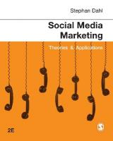 Social Media Marketing: Theories and Applications 2nd Revised edition
