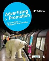 Advertising and Promotion 4th Revised edition